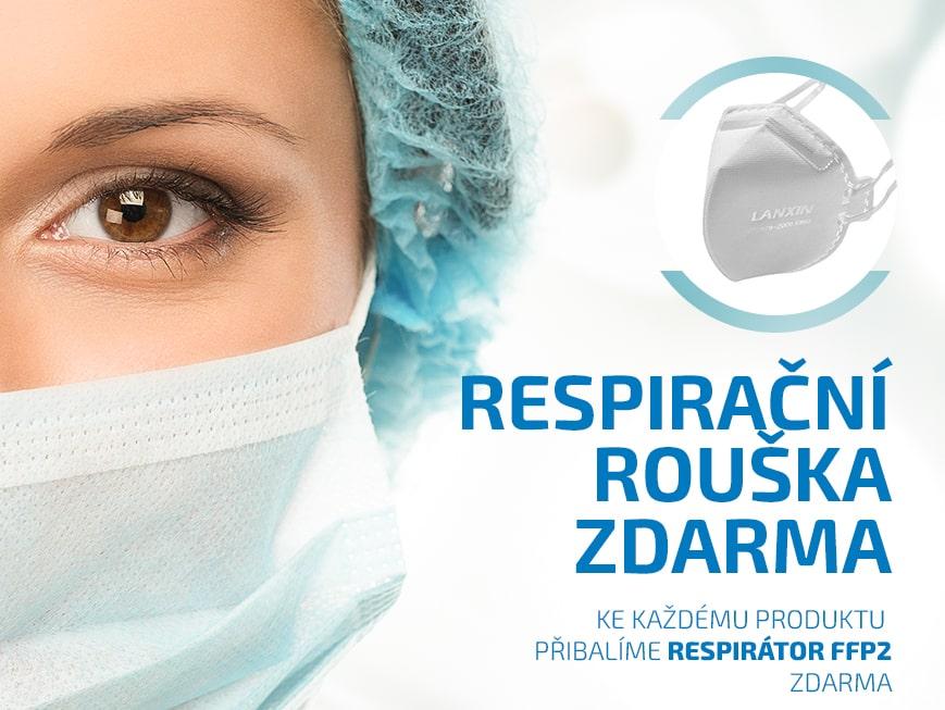 Respirační rouška ZDARMA